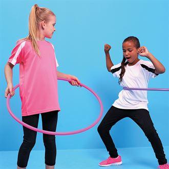 sportshirts Kids 2 kleurig